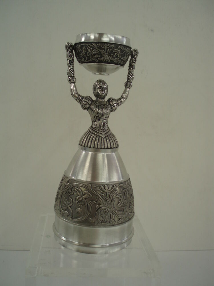 nuernberg nuremberg nurnberg germany pewter bridal wedding cup nib ebay. Black Bedroom Furniture Sets. Home Design Ideas