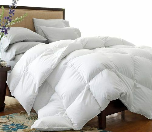 California King Goose Down Comforter Size White Blanket