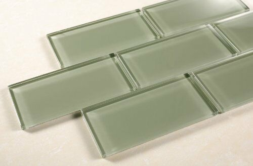 sea glass tiles bathroom echipse 3 quot x6 quot sea green glass tile bathroom tile 20316