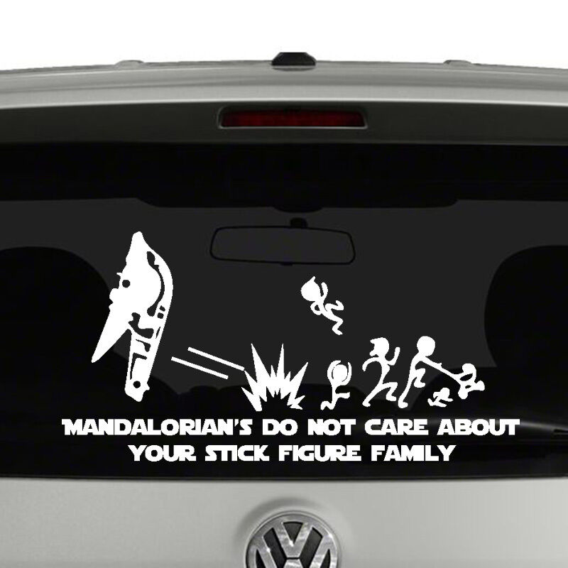 mandalorians do not care about your stick figure family