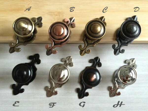 Gold Silver Nickel Chrome Steel Bronze Drawer Knobs