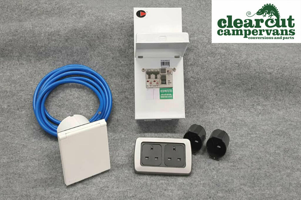 campervan 240v hook up kit