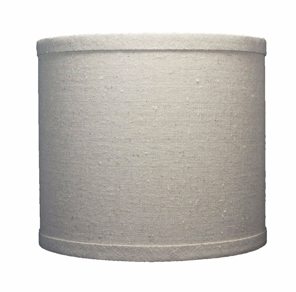 urbanest linen drum lamp shade 8 inch x 8 inch x 7 inch natural. Black Bedroom Furniture Sets. Home Design Ideas
