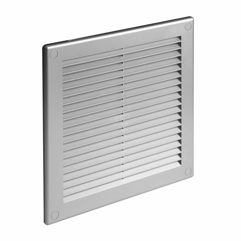 Air Ventilator Wall : Satin ducting ventilation cover grey wall air vent grille
