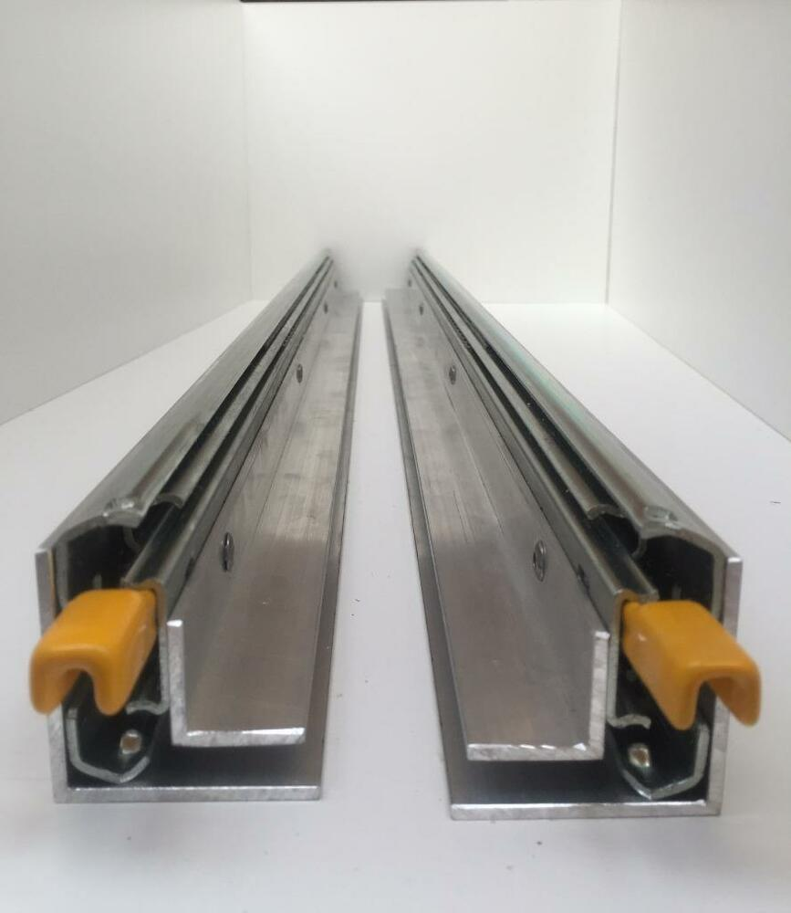400 1800mm 227kg Drawer Slides Fridge Runners Locking