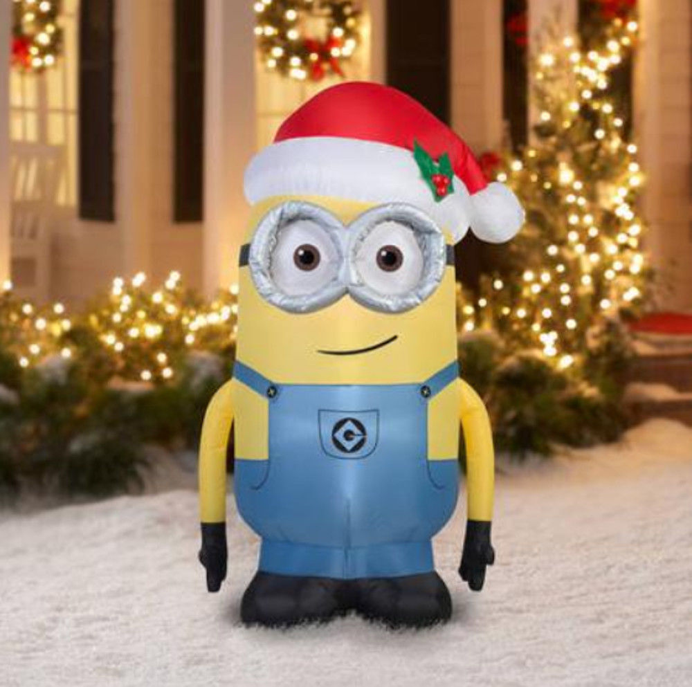 AirBlown Inflatable Minion Dave Despicable ME NEW 5 Feet
