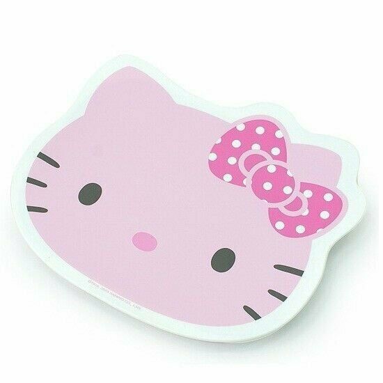 Hello kitty pink face stainless food tray set w bag ebay for Cuisine hello kitty