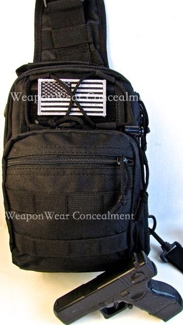 Bug Out Weapons Bag : Heavy duty tactical sling go bag gun concealment bug out