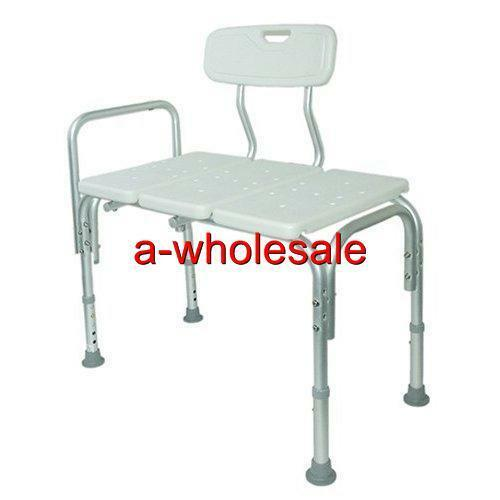 bathtub transfer bench with back amp shower transfer seat 85960