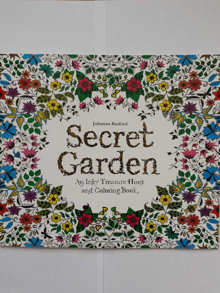 Secret Garden Coloring Book For Children And Adult Relieve Stress 24 Pages