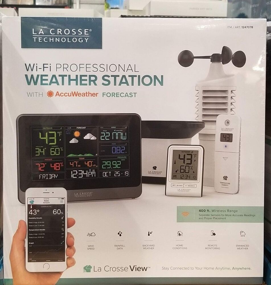 Davis Vantage Vue >> AcuRite Wireless Professional Weather Station with PC ...