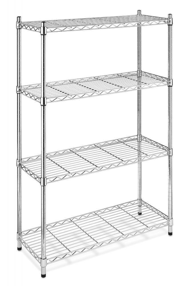 storage racks kitchen new chrome storage rack 4 tier organizer kitchen shelving 2568