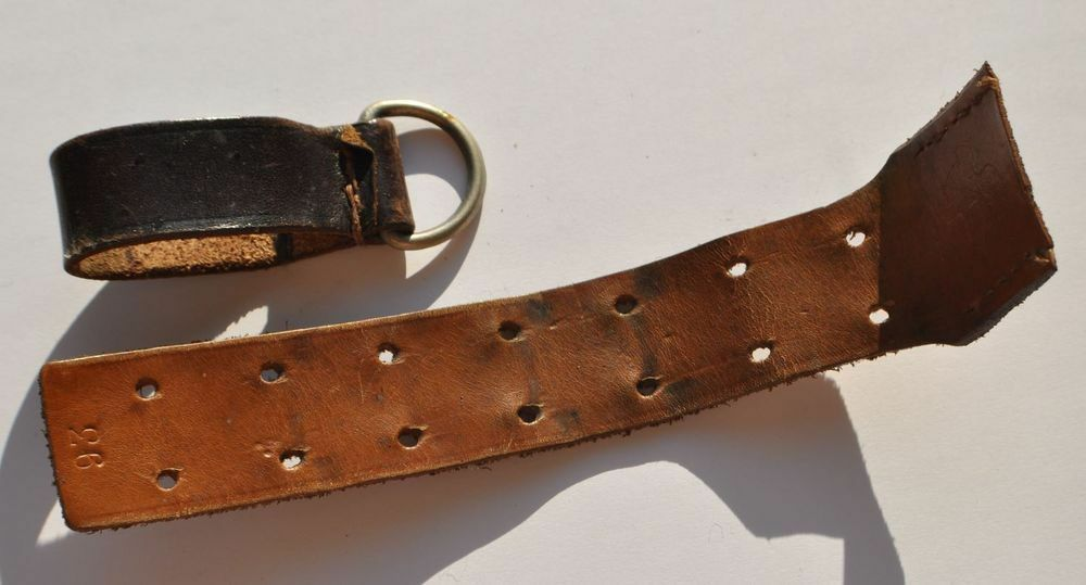 1940s wwii germany leather belt extension