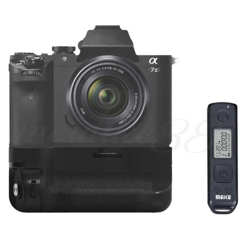 meike mk a7ii pro wireless control battery grip for sony. Black Bedroom Furniture Sets. Home Design Ideas