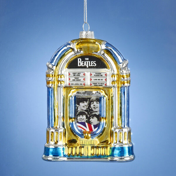 Kurt S Adler Beatles Glass Jukebox Christmas Ornament Ebay