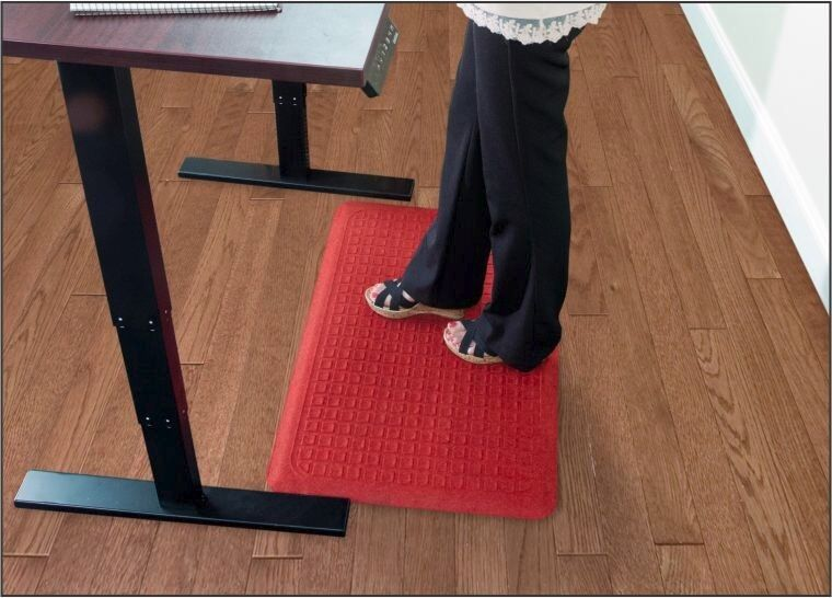 Get Fit Stand Up Anti Fatigue Floor Mat For Stand Up Desks