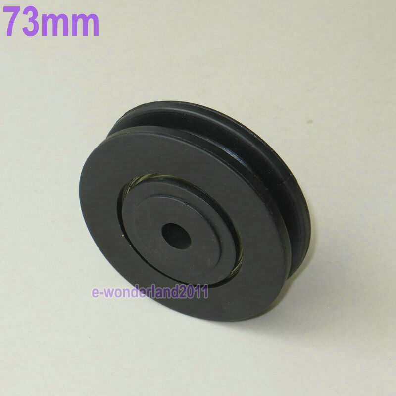 Small plastic bearing pulley wheel cable gym equipment