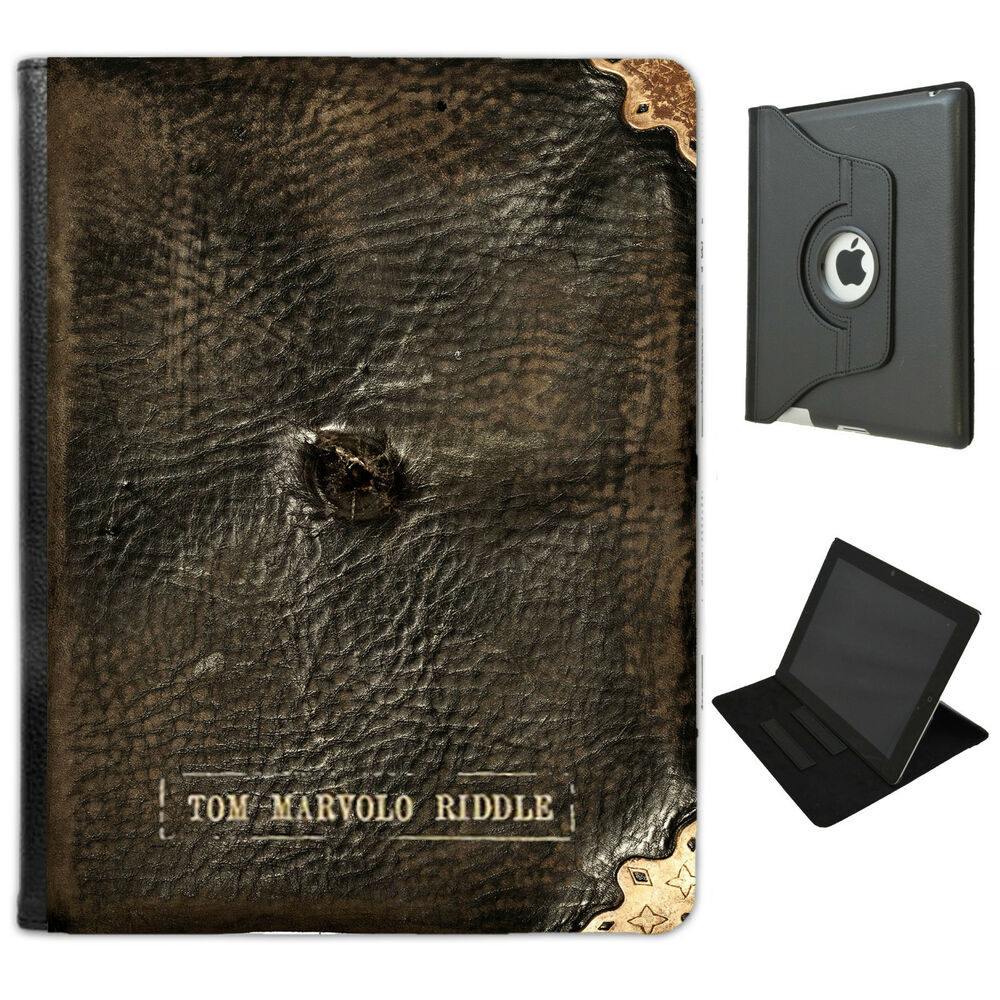Tom Riddle Diary Harry Potter Pu Leather Case For Ipad 2 3