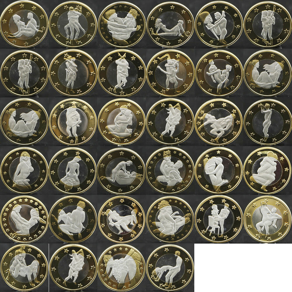 2015 34Pcs Sex 6 Euro Coins Different Kama Sutra Position -6700