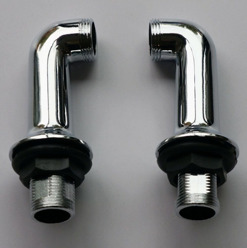 Deck Mounted Chrome Bath Filler Shower Mixer Tap Legs ...