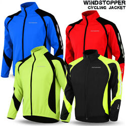 Kyпить Cycling Jacket Windstopper Winter Thermal Fleece Windproof Long Sleeve Bike Coat на еВаy.соm
