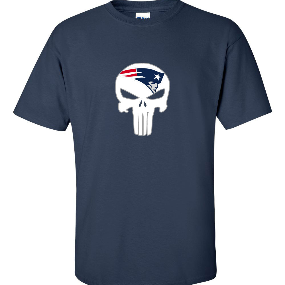New england patriots t shirt patriots punisher t shirt fan New england patriots shirts