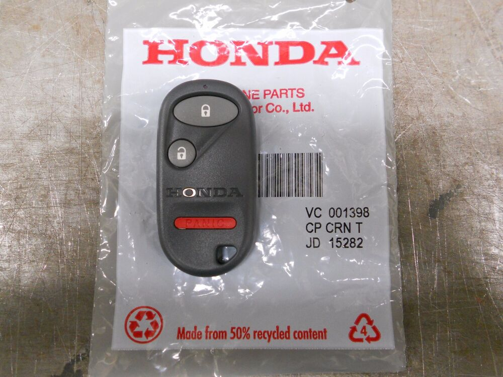 genuine honda civic pilot keyless entry transmitter remote fob ebay