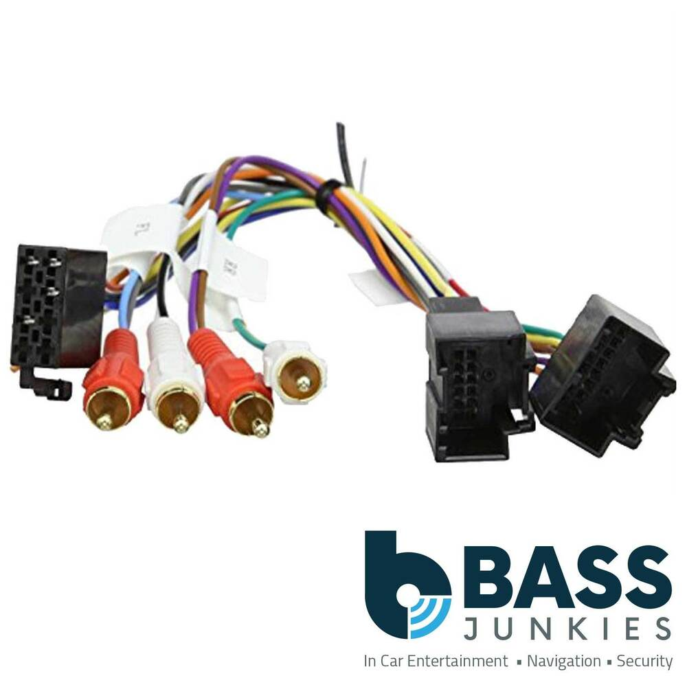 saab 9 3 93 2006 active amplified stereo bypass wiring harness