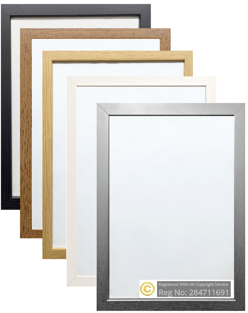 What are standard poster frame sizes