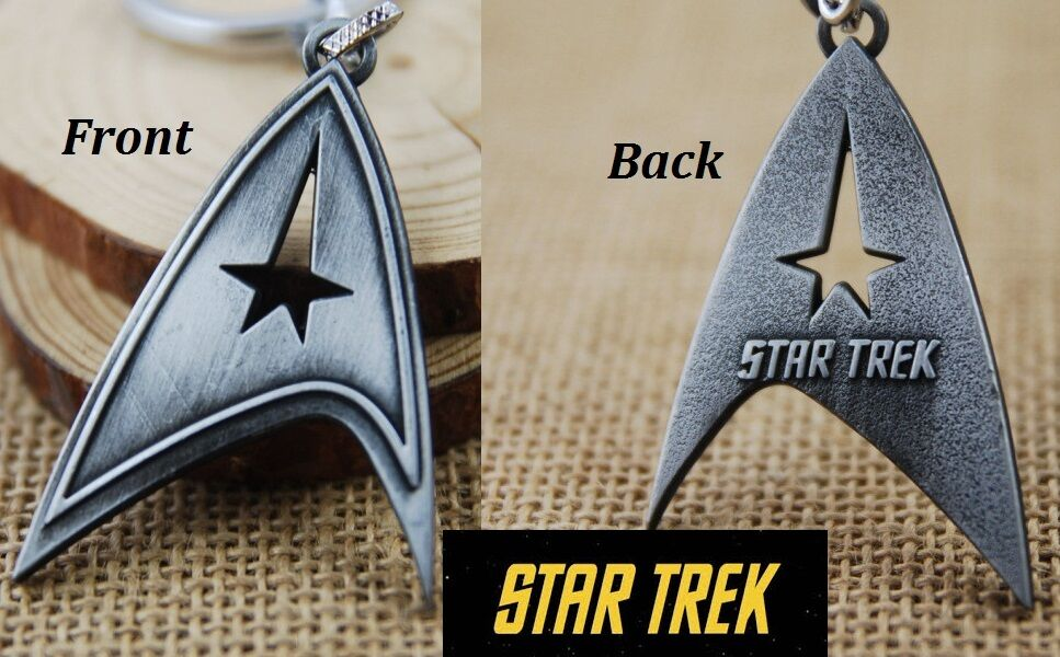 star trek communicator key chain antique silver color Play Star Trek 25th Anniversary Star Trek 25th Anniversary Convention