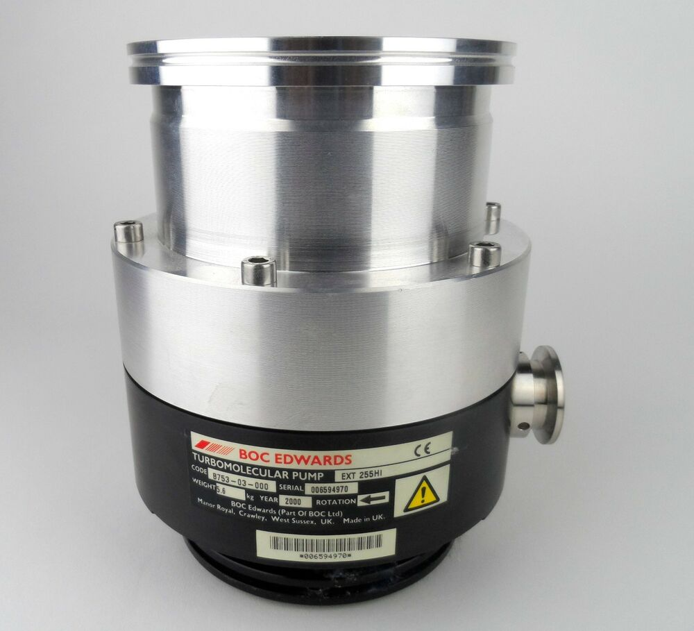 BOC Edwards Turbomolecular Vacuum Pump EXT 255HI for ...
