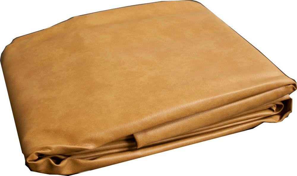 New Heavy Duty Billiard 9 ft foot Camel Fitted Leatherette ...
