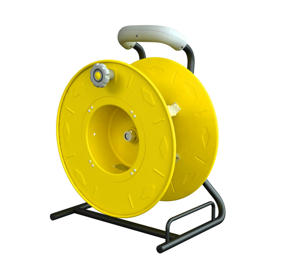 Professional Wind-Up Cord Reel Holds Up To 100 Ft. SO 12/3