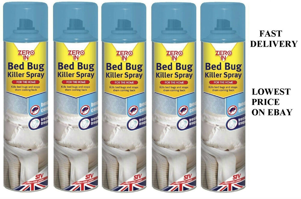 ZERO IN INSECT BED BUG BEDBUGS SPRAY TREATMENT KILLER ...