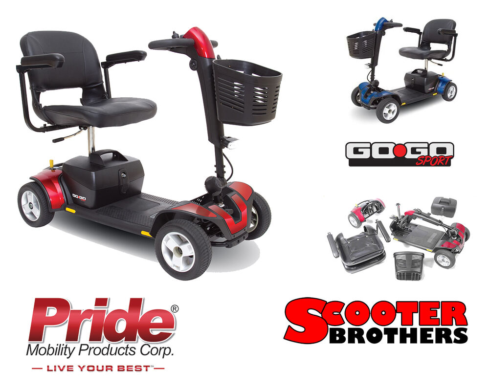 Pride Mobility Go Go Sport Travel Electric Scooter S74 325 Pound Weight Capacity Ebay