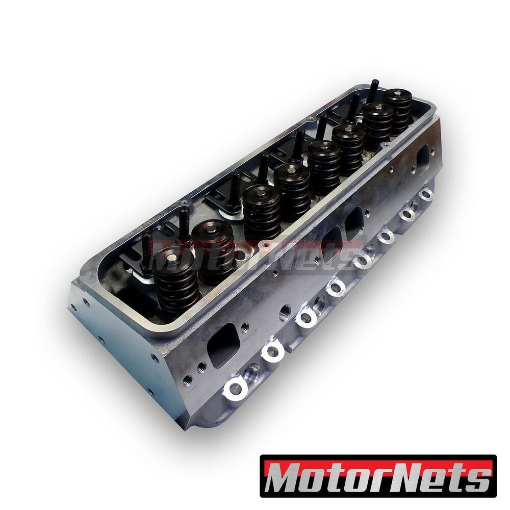 Complete Ported Aluminum Cylinder Head Small Block Chevy