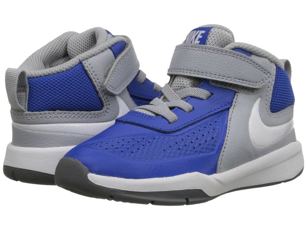 Nike Team Hustle D 7 748002 400 Blue Black Grey White ...