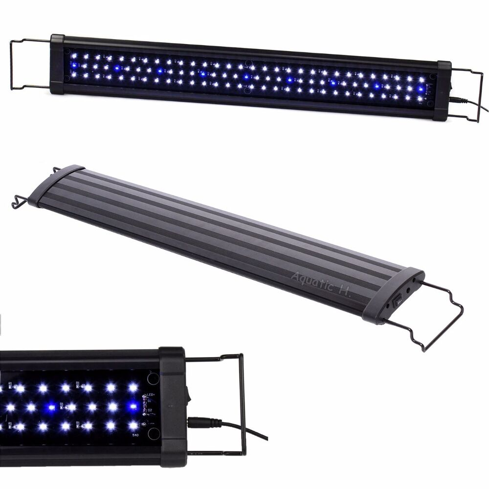 Led 30 42 108x leds aquarium fish tank light high lumen for Fish tank lighting