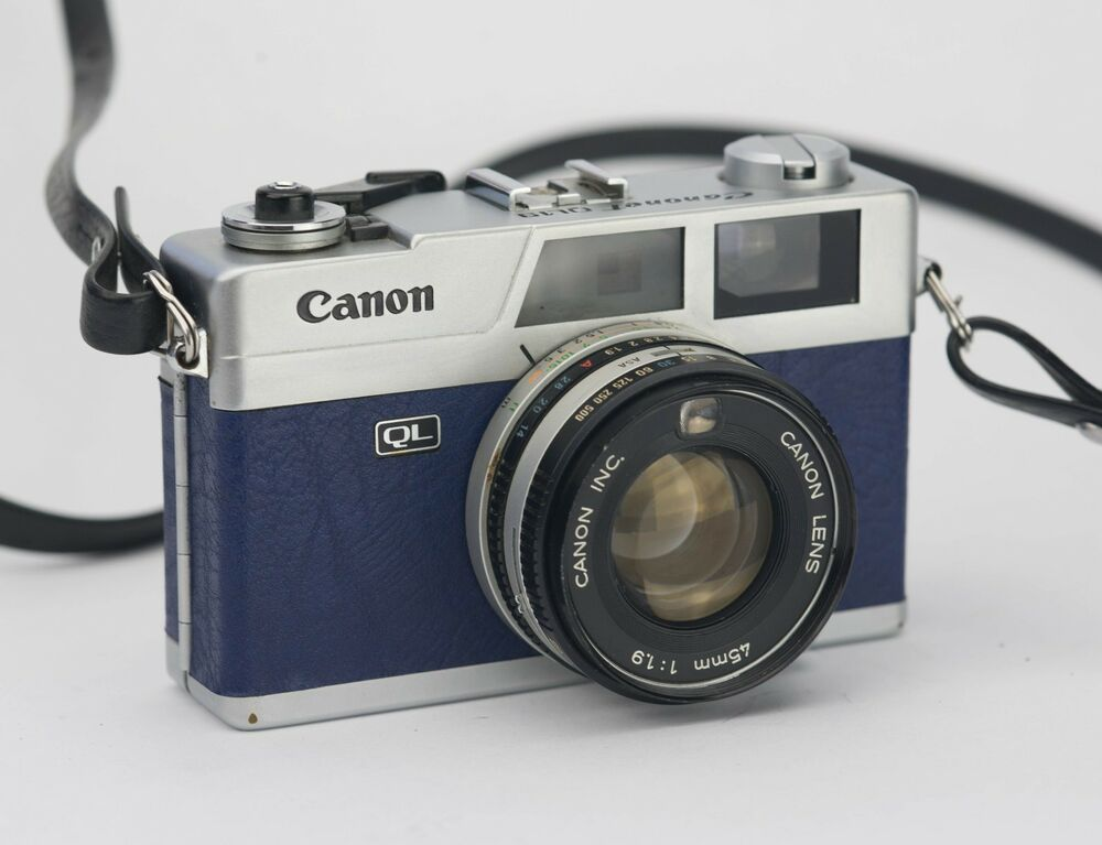 Canon Canonet QL19 Replacement Cover - Recycled Leather   eBay