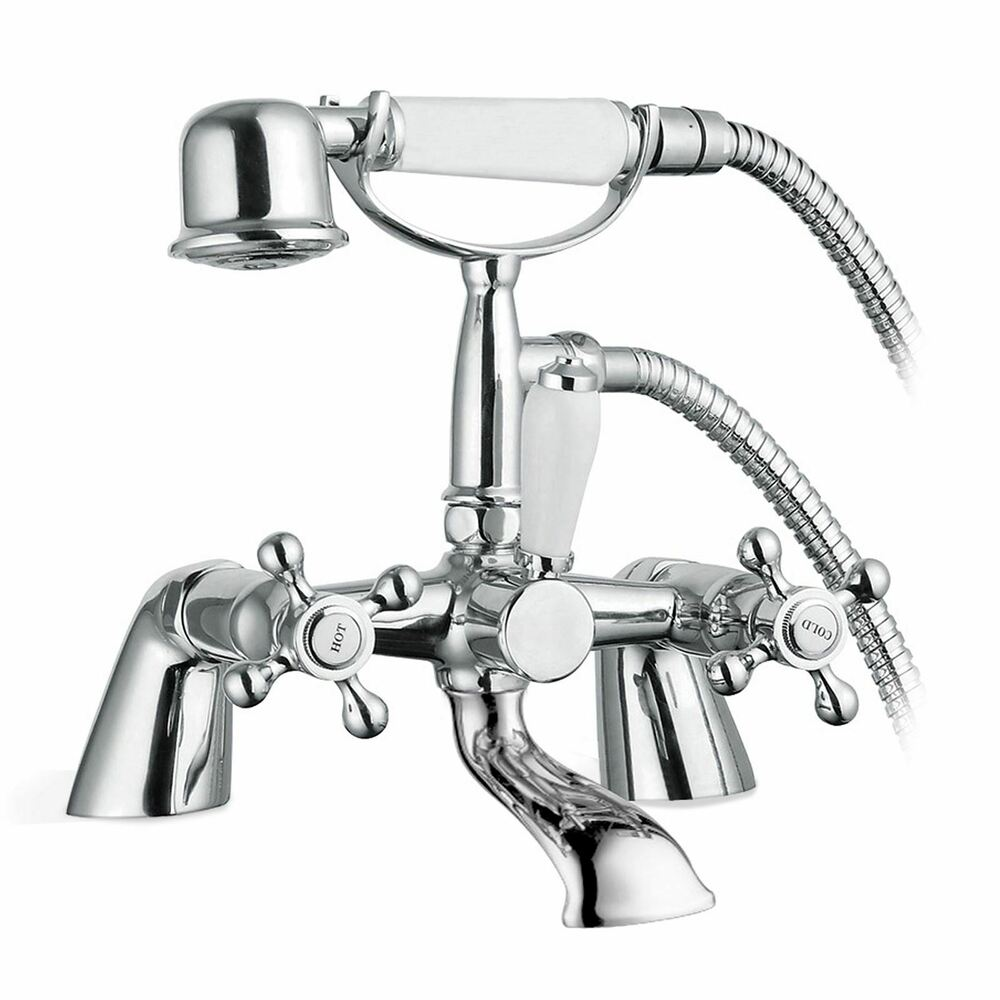 Victorian Traditional Bath Filler Shower Mixer Bathroom