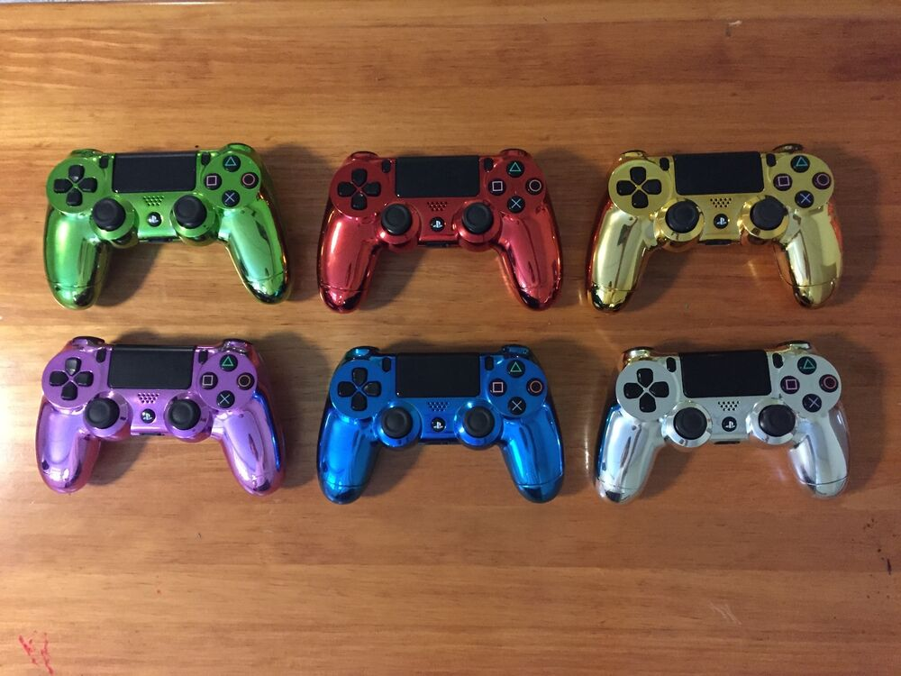 ps4 how to change controller color