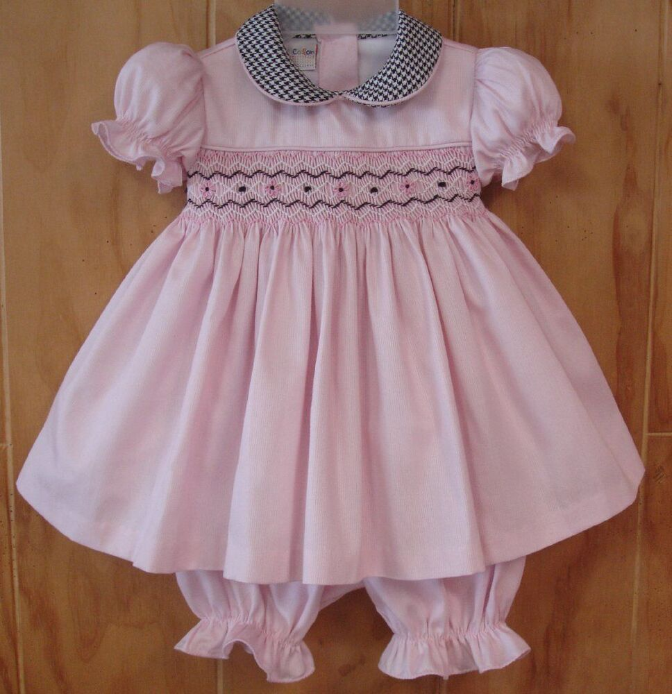 NWT Tutti Color Flower Girl Party Pink Smocked Hand ...