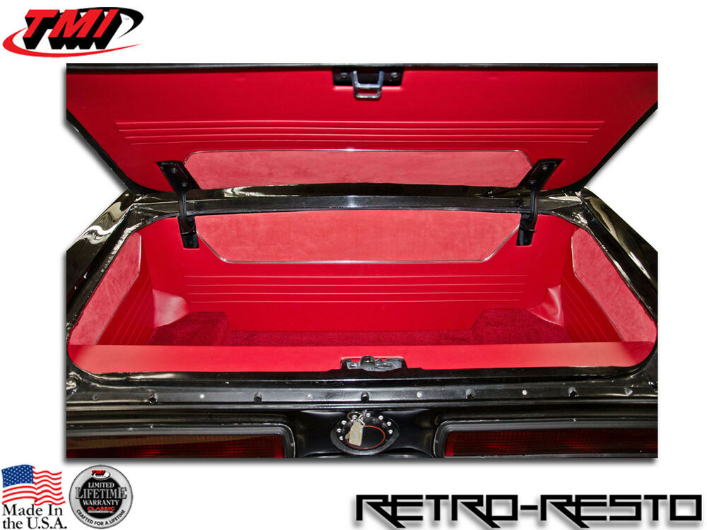 1964 1968 mustang coupe convertible complete trunk kit w carpet sport r ebay. Black Bedroom Furniture Sets. Home Design Ideas