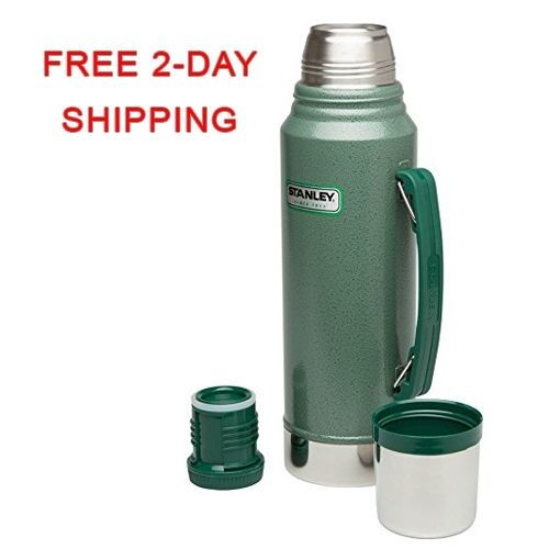 stanley classic coffee thermos vacuum bottle 1 1 quart stainless steel hammerton ebay. Black Bedroom Furniture Sets. Home Design Ideas
