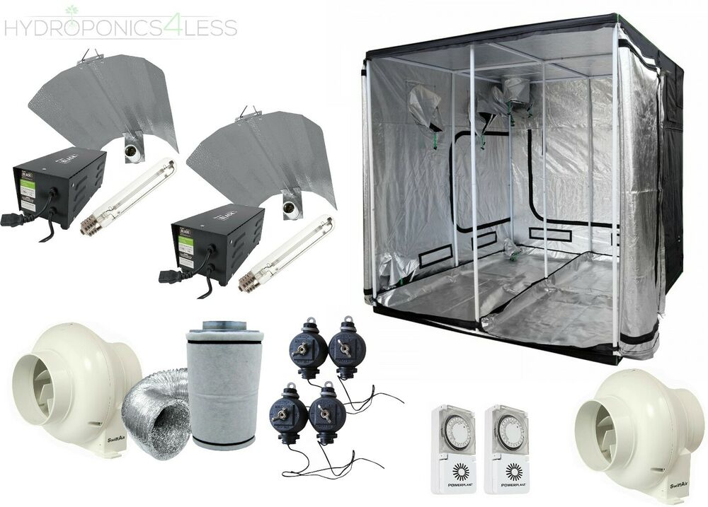 how to install fan in grow tent