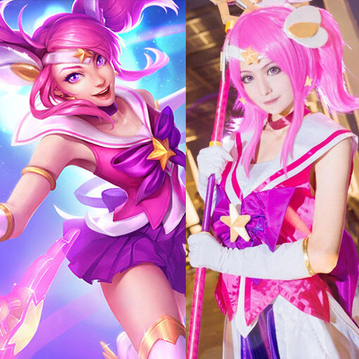 of cosplay guardian legends League star