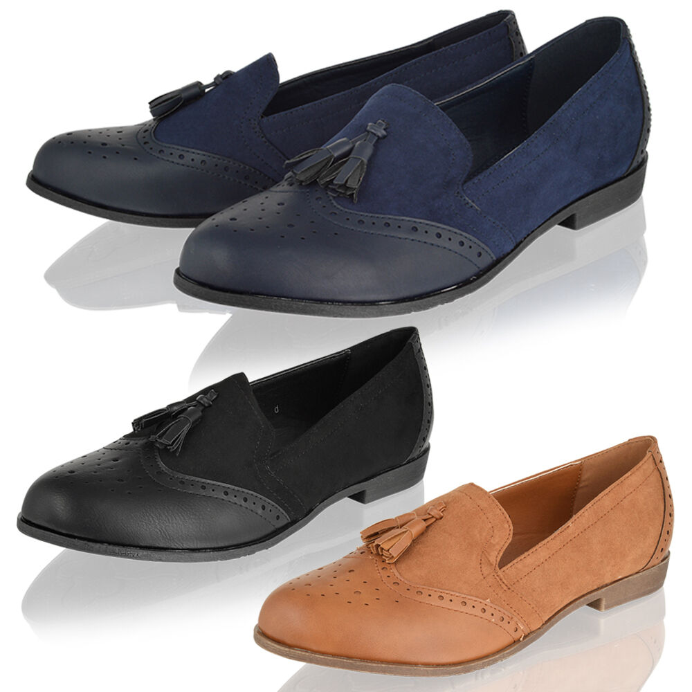 Smart With Brogue Shoes Women