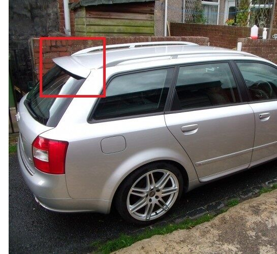 audi a4 b6 b7 8e avant estate rear roof spoiler new ebay. Black Bedroom Furniture Sets. Home Design Ideas
