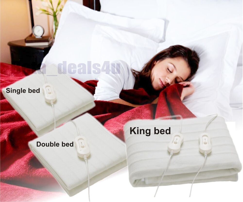 Single Double King Size Electric Blanket For Bed