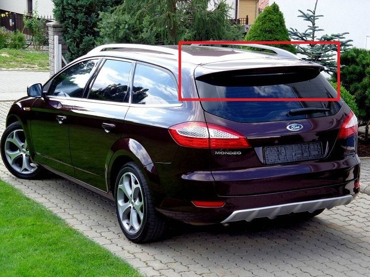 ford mondeo 4 mk4 2007 2014 estate avant titanium rear roof spoiler new ebay. Black Bedroom Furniture Sets. Home Design Ideas